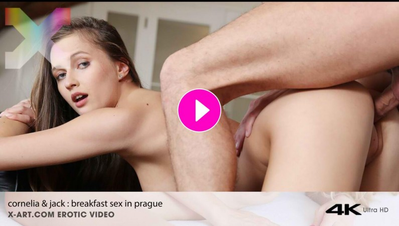 Cornelia & Jack HOT breakfast SEX